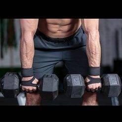 Gants musculation haltères