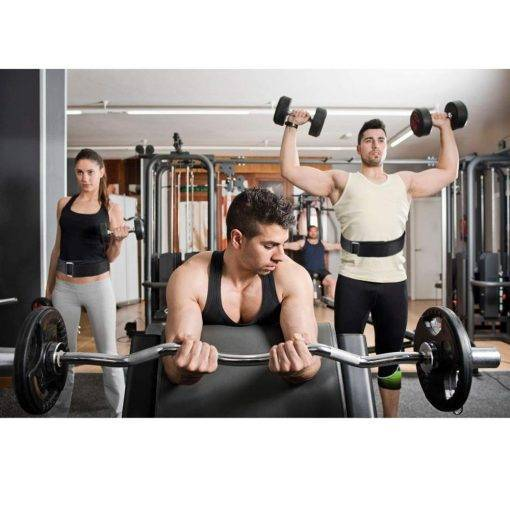 Ceinture Musculation Lombaire en Nylon Accessoires de Musculation Boutique de Musculation