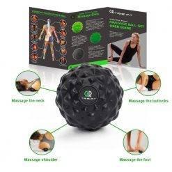 ProCircle rouleau en mousse rouleau musculaire ensemble de balles de Fitness entraînement relaxation bloc de Yoga pour Yoga Massage et Fitness physiothérapie Accessoires de Fitness Boutique de Fitness