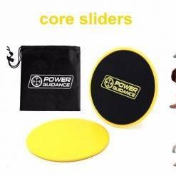 Lot de 2 disques de glisse Accessoires de Fitness Boutique de Fitness