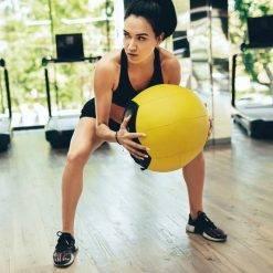 Medicine Ball de 35cm en couleur (Vide) Accessoires de Fitness Boutique de Fitness